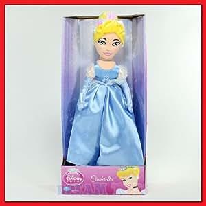Cinderella Plush 16in Doll - Disney Princess Dolls 16