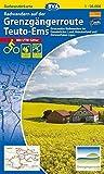 Radwanderkarte BVA Radwandern auf der Grenzgängerroute Teuto-Ems 1:50.000, reiß- und wetterfest, GPS-Tracks Download: