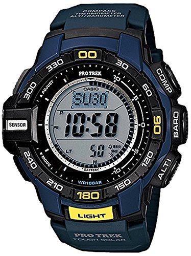 Casio Herren-Armbanduhr Protrek Digital Quarz Resin PRG-270-2ER