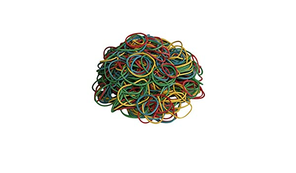 Gefrierbeutelringe Gefrierbeutel Ringe Haushaltsgummis 50 g farbig sortiert