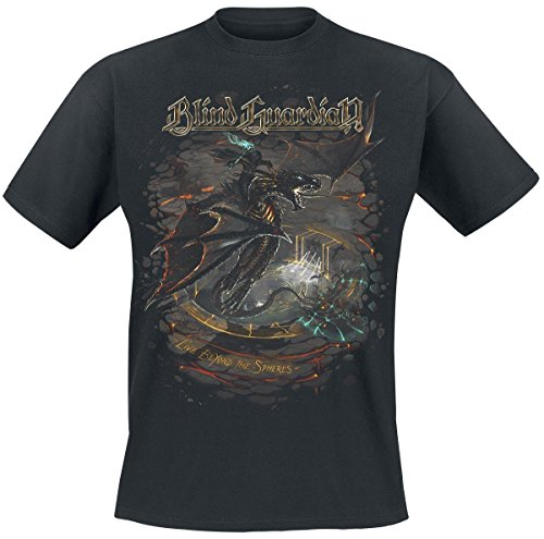 Blind Guardian Live Beyond The Spheres Camiseta Negro XL