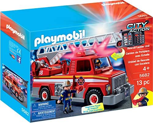 Playmobil City Action Rescue Ladder Unit vehículo