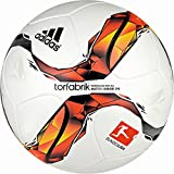adidas Herren Pucks Kugeln Dfl Junior290 Ball, White-Solar-Red-Black-Solar Orange