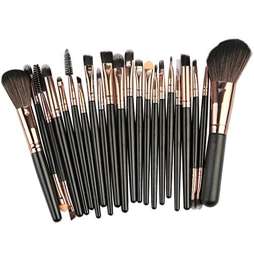 Theshy 22Pcs Makeup Brushes Powder Foundation Eyeshadow Eyeliner Lip Cosmetic Brush
