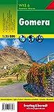 Gomera, Wanderkarte 1:35.000, WKE 6: wandelkaarten 1:35 000 (freytag & berndt Wander-Rad-Freizeitkarten)