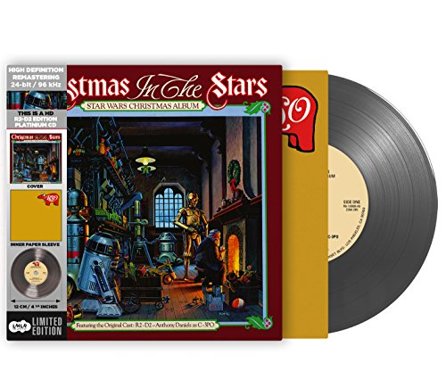 Star-Wars-Christmas-Album-R2-D2-Edition-Cardboard-Sleeve-High-Definition-CD-Deluxe-Vinyl-Replica-Vinilo