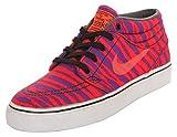 Nike SB Herren Sneakers Stefan Janoski Mid Prm Neon Orange-Lila 642061-651, Groesse Eur:38