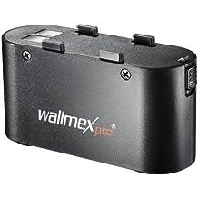 Walimex Pro Powerblock Porta Li-Ion Akku (4500 mAh) für Systemblitze schwarz