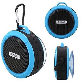 Haihuic Duschlautsprecher Wasserdichte Bluetooth Portable Lautsprecher Mit Mic Saugnapf Für Indoor Outdoor