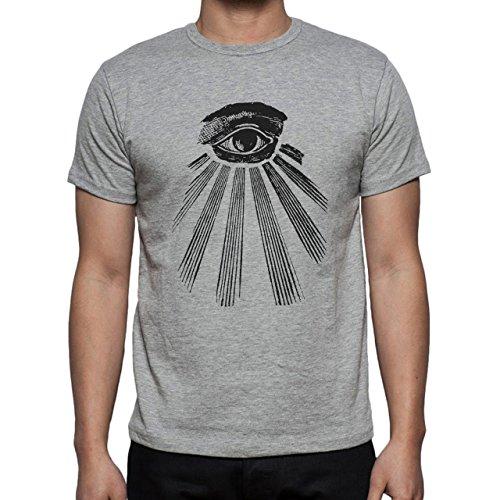 Every Seeing Eye Illuminati Edition Herren T-Shirt Grau