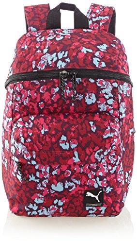 PUMA Rucksack Foundation Backpack - Mochila, color rojo, talla 28.5 x 45 x 18 cm