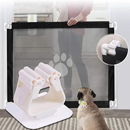 Lifesongs Baby Sicherheitsgitter Netz Kindergitter Hundegitter Haustiergitter Für Treppen/Tür/Treppe/Outdoor/Indoor, Einfache Verriegelung & Flexibles Design Zum Schutz Von Kleinkindern