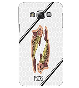 PrintDhaba Zodiac Pisces D-4791 Back Case Cover for SAMSUNG GALAXY A7 (Multi-Coloured)