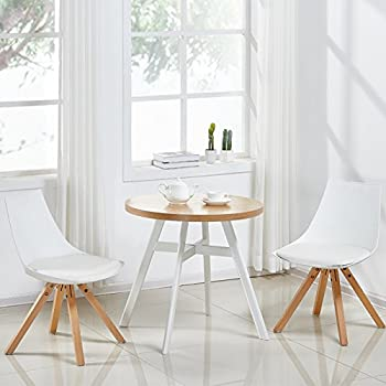 designetsamaison table manger ronde scandinave blanche. Black Bedroom Furniture Sets. Home Design Ideas