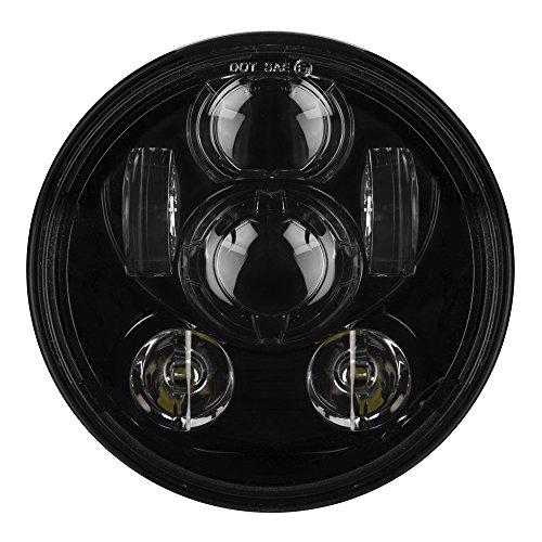 autofy 6 led 5.75 inch headlight for bajaj avenger and harley davidson (black) Autofy 6 LED 5.75 Inch Headlight for Bajaj Avenger and Harley Davidson (Black) 51rq9qnySfL