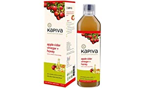 Kapiva Ayurveda Apple Cider Vinegar + Honey With Ginger, Garlic & Lemon - 500Ml