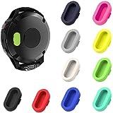 CKANDAY 10 Pezzi protettori Porta Caricabatterie Colorati compatibili con Fenix 6X 6S 65 5S 5X Plus Garmin Vivoactive 4 4s 3