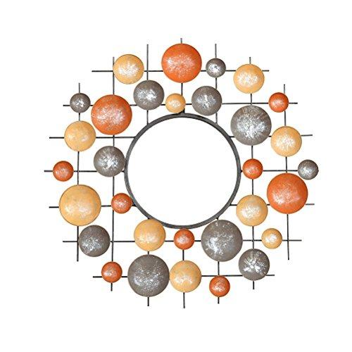 dsc miroir en trois dimensions fer mur dcoration crative miroir dcoratif salon vranda mur miroir dcoratif