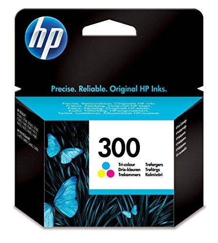 HP 300 - Cartucho de tinta original, tri-color