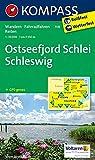 KOMPASS Wanderkarte Ostseefjord Schlei, Schleswig: Wanderkarte mit Radrouten und Reitwegen. GPS-genau. 1:35000: Wandelkaart 1:35 000 (KOMPASS-Wanderkarten, Band 708) -