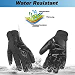 Unigear Winter Warm Gloves Double Waterproof Windproof with Touchscreen Function Cycling Gloves for Daily Use,Gardening, Builders, Mechanic 10
