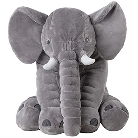 Elephant Soft Dolls Toys/Animal Elephant Pillows/Plush Toys/Pillow Pets Cushion A Good Gift For Dolls For Baby/Children(60CM)