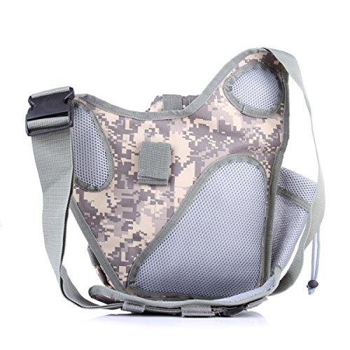 Kameratasche Taktische Militärische Fans Tasche Taschen Outdoor-Freizeit-Schulter-Kurier-Rucksack Sattel 2