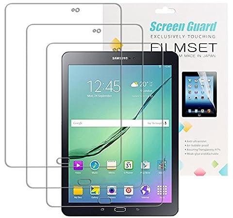 3x film de protection pour écran Samsung Galaxy Tab S2 9.7 ultra-claire (Samsung Galaxy Tab S2