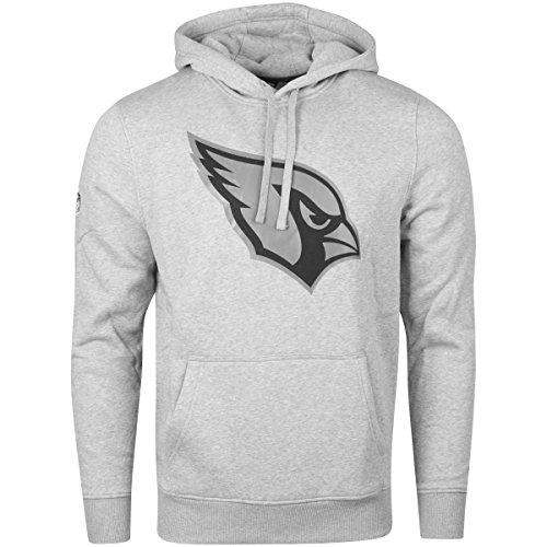 New Era Fleece Hoody - NFL Arizona Cardinals grau - L (Arizona Nfl Cardinals)