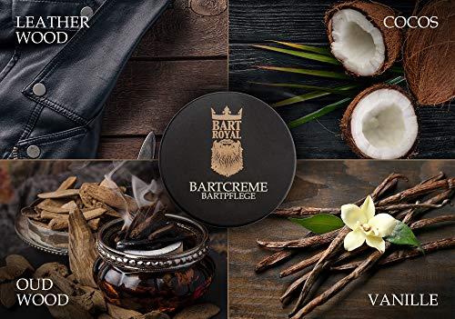 Bart Royal Bartcreme Oud Wood, für einen weichen Bart, fettet nicht, pflegt Bart und Haut, hilft gegen Juckreiz, Bartpflege Made in Germany, 1 x 50ml