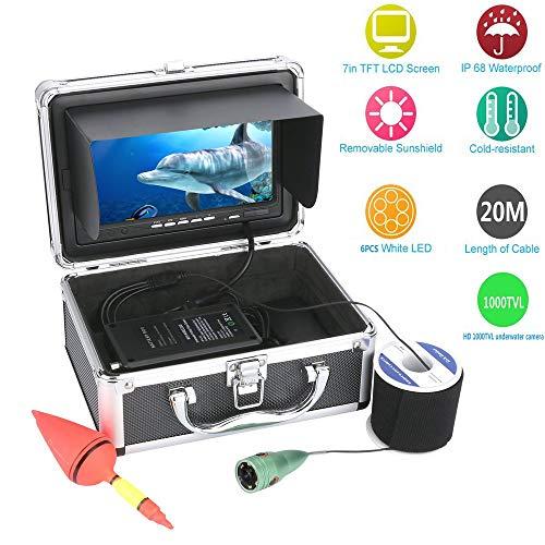 Fish finder 20.7-Meter Inch Smart Sport Unterwasser-Kamera Unterwasserkamera HD Unterwasser-Visual Angler-Monitoring-System