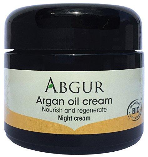 Abgur Crème de nuit à l'huile d'Argan bio 50 ml