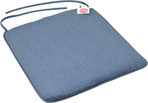 Funda del asiento para sillas de jardín - Se adapta a Resol Palma / Cool - Azul - 8 unidades