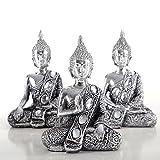 DEKORATIVES BUDDHA FIGUREN SET