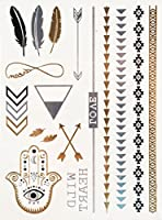 Wild Love de POSH TATTOO ||| Metallic Tattoo | Flash Tattoos | La nueva moda de Hollywood de SveJona