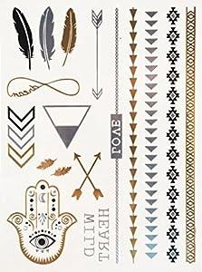 Wild Love de POSH TATTOO ||| Metallic Tattoo | Flash Tattoos | La nueva moda de Hollywood de SveJona
