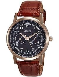 Citizen Analog Black Dial Unisex's Watch-AO9003-08E