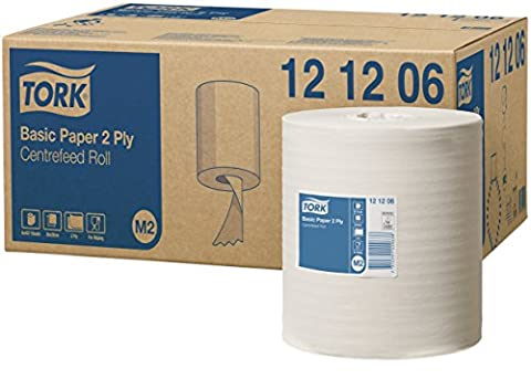 Tork 121206 Basic wiping paper roll M2