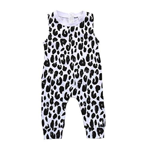 Trada Kleinkind Kinder Baby Mädchen Leopard Strampler Hosen Sommer Kleidung Outfits Kindbekleidung...
