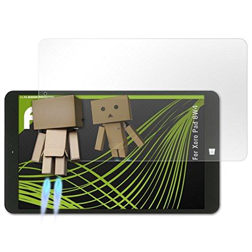 atFolix Bildschirmfolie für Xoro Pad 8W4 Spiegelfolie, Spiegeleffekt FX Schutzfolie