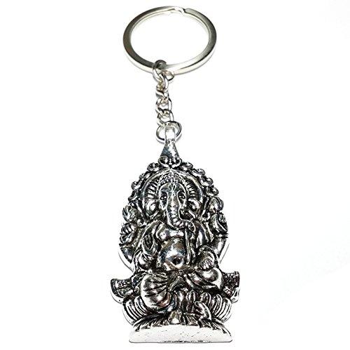 Cameleon-Shop Llavero Metal Gott Ganesha Hinduismus