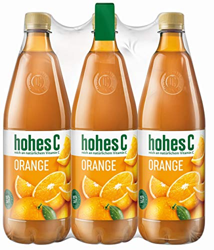 Hohes C Orange - 100% Saft, 6er Pack (6 x 1 l)