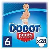 Dodot Pants Pañal-Braguita Talla 6, 28 Pañales, Fácil de Cambiar