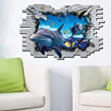 ALLDOLWEGE Die Schlafzimmer sind modern 3D Wall Sticker Poster Stock Badezimmer Wand Papier Ornamente mit der wasserdichten Selbstklebend, 69-004 DM