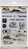 Find It Trading Amy Design Clear Stamps-Daily Transport Text