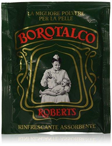 Borotalco Roberts - Polvos para la piel, sobre de 100g –[Pack de 24]