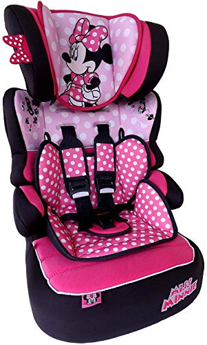 MISS MINNIE Dots Disney Beline LX Kindersitz KINDER AUTOSITZ BABY SITZ GRUPPE 1/2/3 9-36kg