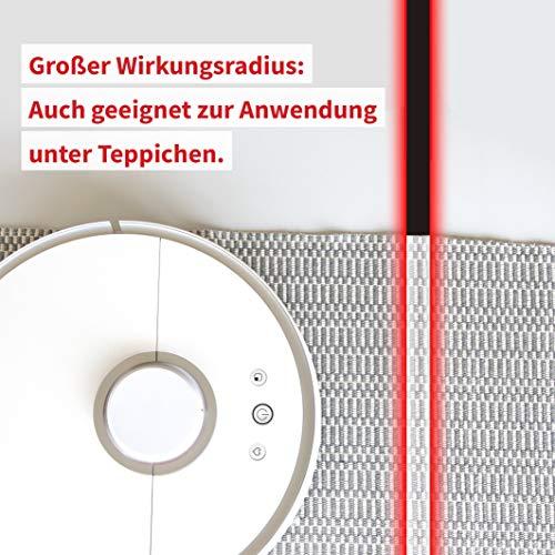 350 ml robot de limpieza inteligente girosc/ópico Robot aspirador 2 en 1 de Tesvor X500pro indicador de limpieza en tiempo real para suelos lisos y alfombras dep/ósito de agua electr/ónico