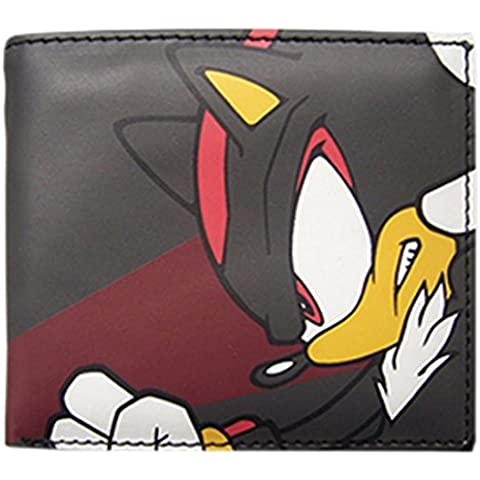 Sonic The Hedgehog Shadow Bi-Fold Billetera