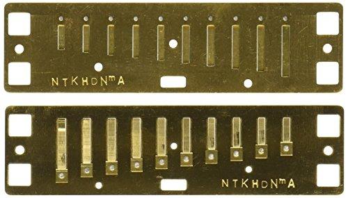 Lee Oskar Natural Minor A-Moll Ersatzstimmplatte Mundharmonika